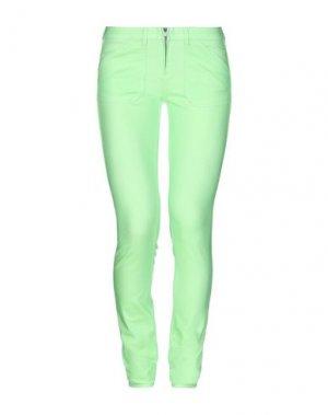 Джинсовые брюки GAS. Цвет: зеленый