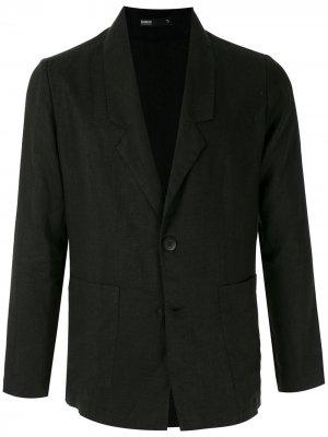 Легкий пиджак Handred. Цвет: черный