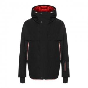 Лыжная куртка Miller Moncler Grenoble. Цвет: чёрный