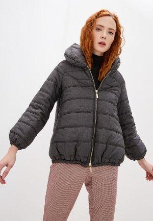 Куртка утепленная Alessandro DellAcqua Dell'Acqua. Цвет: серый