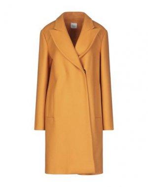 Пальто ALYSI. Цвет: оранжевый