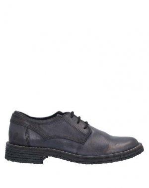 Обувь на шнурках FELMINI. Цвет: темно-синий