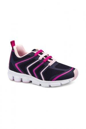 Обувь спортивная Bibi. Цвет: темно-синий, розовый