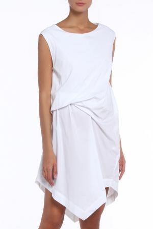Платье Liviana Conti. Цвет: белый