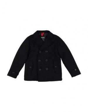 Пальто BOMBOOGIE. Цвет: черный