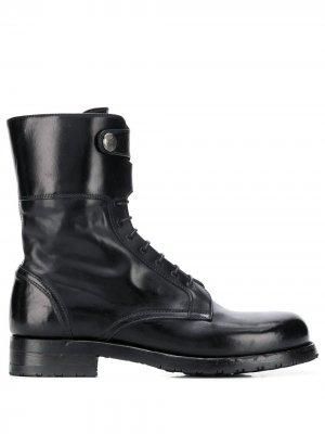 Ботинки Windy с декоративными пуговицами Alberto Fasciani. Цвет: черный