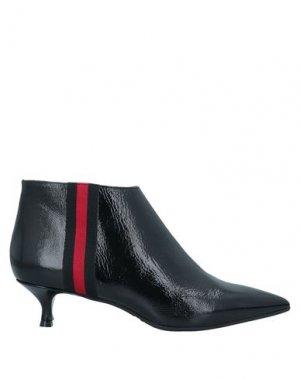 Полусапоги и высокие ботинки EVALUNA. Цвет: черный