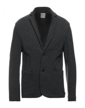 Пиджак 120%. Цвет: стальной серый