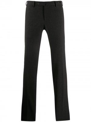 Классические брюки прямого кроя Pt01. Цвет: серый