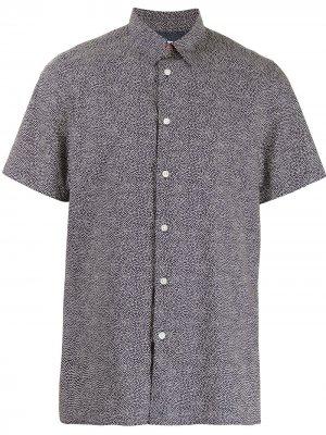 Рубашка в горох с короткими рукавами PS Paul Smith. Цвет: белый