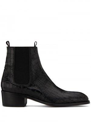 Ботинки челси Abbey Giuseppe Zanotti. Цвет: черный
