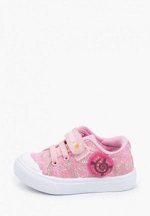 Кеды Kapika. Цвет: розовый