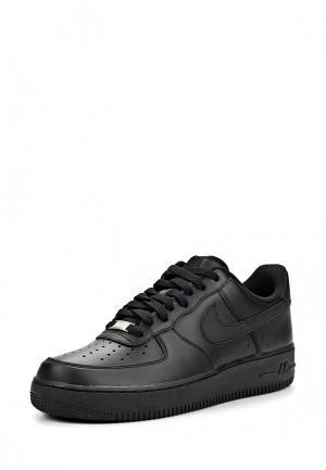 Кроссовки Nike MENS AIR FORCE 1 07 SHOE. Цвет: черный