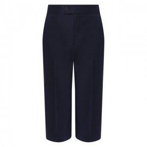 Шерстяные шорты Altuzarra. Цвет: синий
