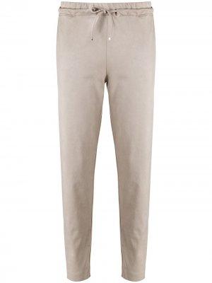 Спортивные брюки с кулиской D.Exterior. Цвет: нейтральные цвета