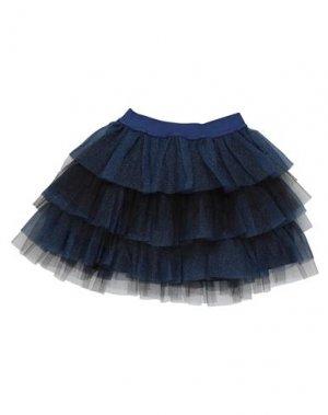 Мини-юбка ANIYE BY. Цвет: темно-синий