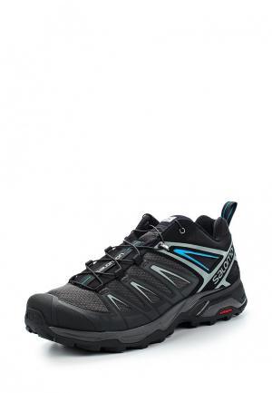 Ботинки трекинговые Salomon X ULTRA 3. Цвет: черный