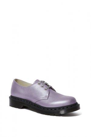 Полуботинки Dr. Martens. Цвет: lavender metallic