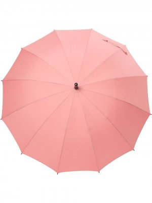 Зонт с плетеным ремешком Discord Yohji Yamamoto. Цвет: розовый