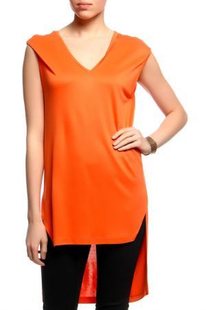 Майка Chapurin. Цвет: оранжевый