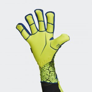 Вратарские перчатки Predator Pro Fingersave Performance adidas. Цвет: белый
