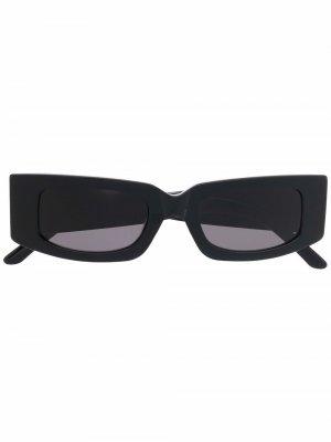 Солнцезащитные очки Prototype I в прямоугольной оправе Sunnei. Цвет: черный