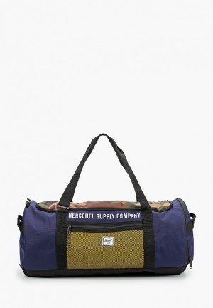 Сумка спортивная Herschel Supply Co Sutton Carryall. Цвет: синий