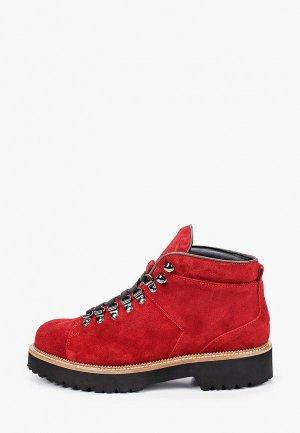 Ботинки Lamania. Цвет: красный