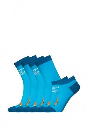 Комплект bb socks. Цвет: голубой