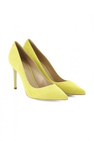 Туфли LERRE. Цвет: желтый