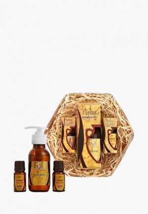 Набор для ухода за телом ARS жирных масел укрепления и роста волос. Цвет: прозрачный