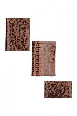 Подарочный набор KIN. Цвет: коричневый
