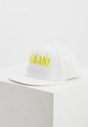 Бейсболка Armani Exchange. Цвет: белый