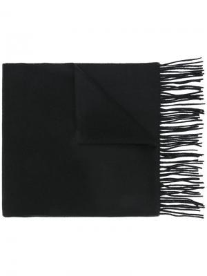 Широкий шарф Libertine-Libertine. Цвет: чёрный