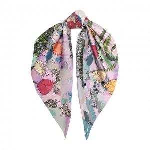 Шелковый платок Umbrella Radical Chic. Цвет: фиолетовый