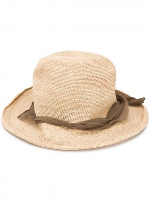 Шляпа-федора Hobo Super Duper Hats. Цвет: нейтральные цвета