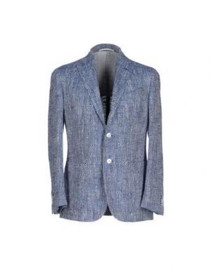 Пиджак STILE LATINO. Цвет: синий