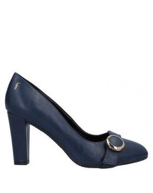 Туфли GATTINONI. Цвет: темно-синий