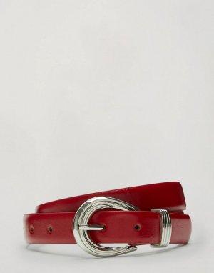 Красный ремень в стиле вестерн Miss Selfridge