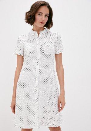 Платье Marks & Spencer. Цвет: белый