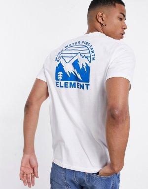Белая футболка Foxwood-Белый Element