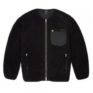 Collarless Reversible Utility Sherpa Jacket Converse. Цвет: чёрный