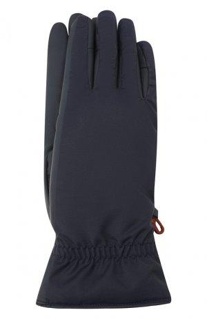 Утепленные перчатки Loro Piana. Цвет: темно-синий