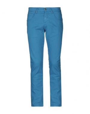Джинсовые брюки 2 MEN. Цвет: пастельно-синий