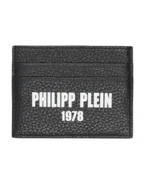 Чехол для документов PHILIPP PLEIN. Цвет: черный