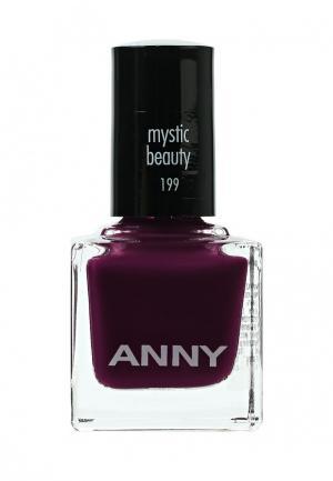 Лак для ногтей Anny тон 199 холодный вишневый. Цвет: бордовый