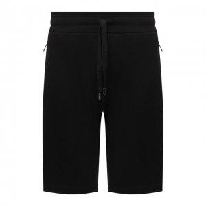 Хлопковые шорты Dolce & Gabbana. Цвет: чёрный