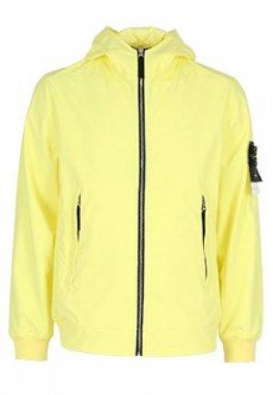 Куртка STONE ISLAND. Цвет: желтый