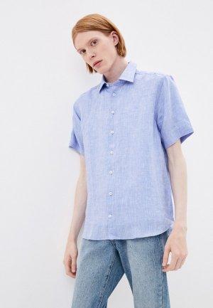 Рубашка Henderson. Цвет: голубой