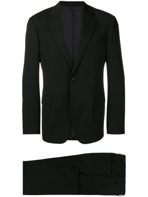Two piece fitted suit Giorgio Armani. Цвет: черный